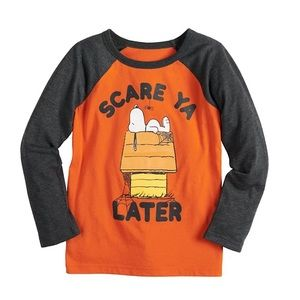 Jumping Beans® Peanuts Snoopy Halloween Graphic T